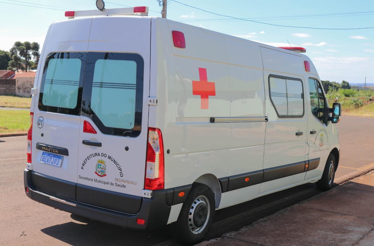 Prefeitura do Município de Sarandi recebeu nesta quinta-feira (15) uma nova ambulância para utilização no transporte sanitário da cidade