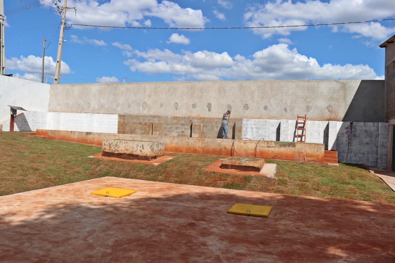 Ampliação da estação de tratamento de esgoto do Jardim Centro Cívico