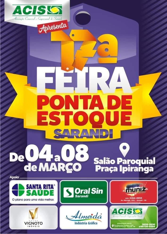 17ª Feira Ponta de Estoque