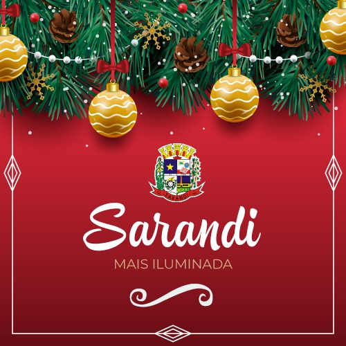 Prefeitura de Sarandi realiza concurso de decoração de Natal
