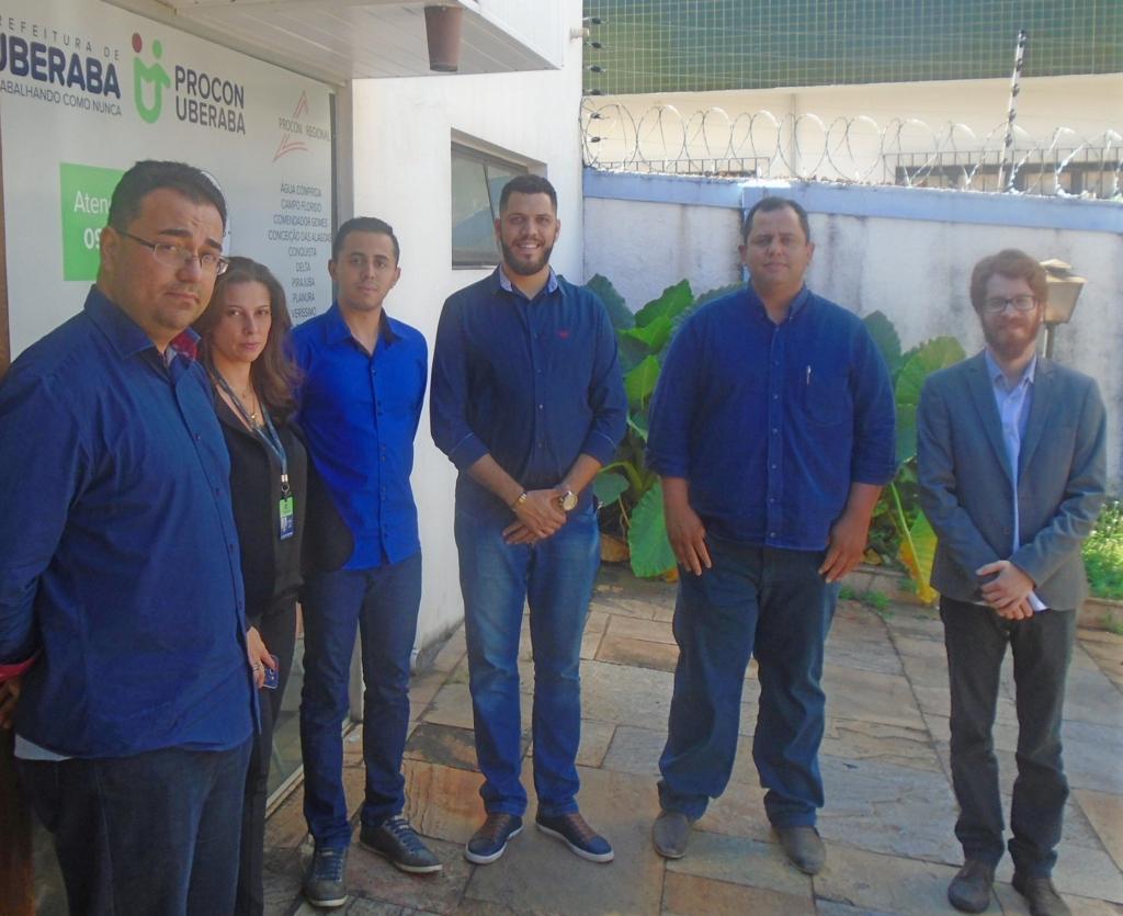 Procon de Sarandi realiza visita técnica aos Procons de São Paulo e Minas Gerais