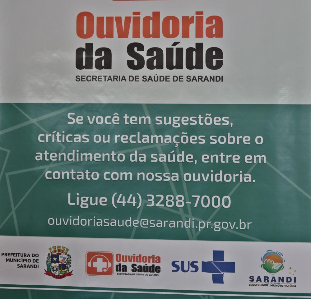 Sarandi disponibiliza Ouvidoria da Saúde para os moradores