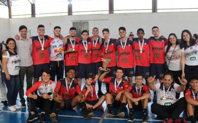 Handebol masculino de Sarandi é campeão da 31ª edição da JOJUP's