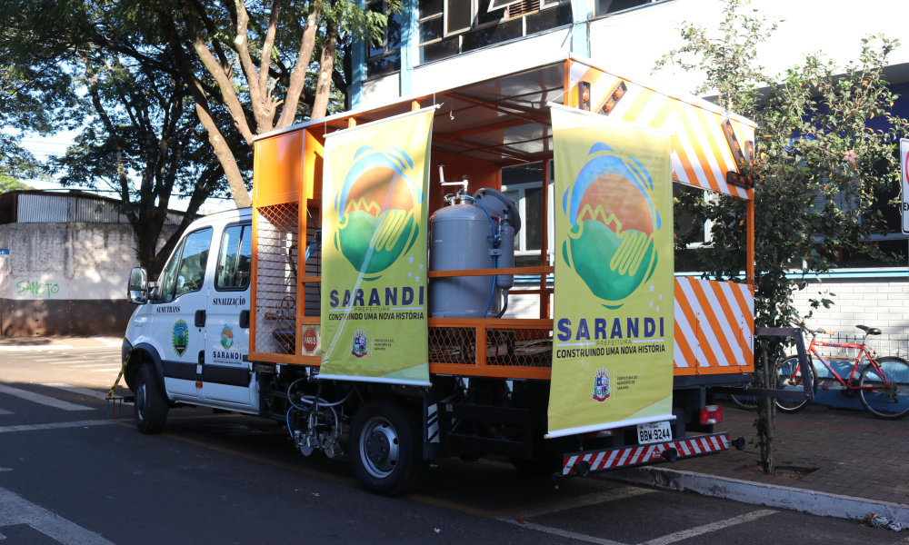 Prefeitura de Sarandi investe na sinalização viária