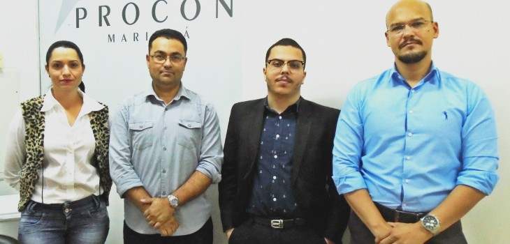 Procon Sarandi estabelece parceria com o Procon Maringá para trabalhos futuros