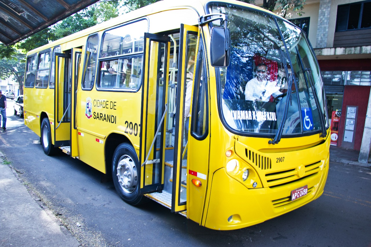 Ônibus Municipal retorna em Sarandi