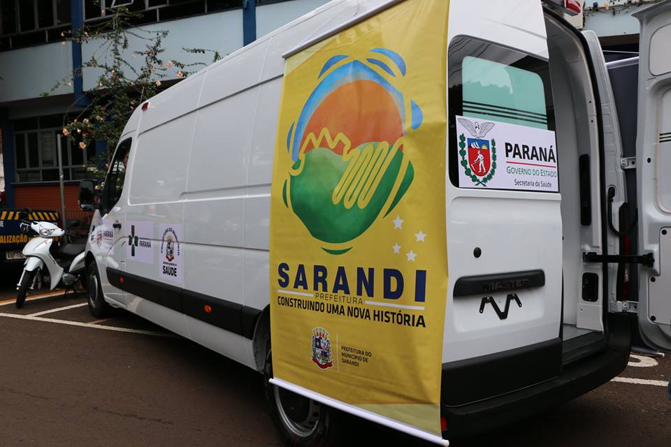 Sarandi recebe nova ambulância