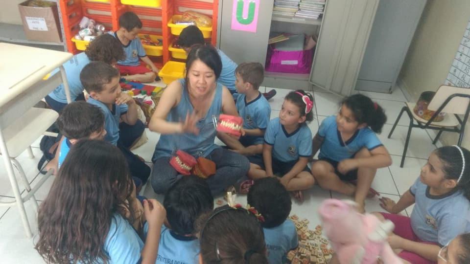 Projeto de ação em promoção e prevenção em Saúde Bucal