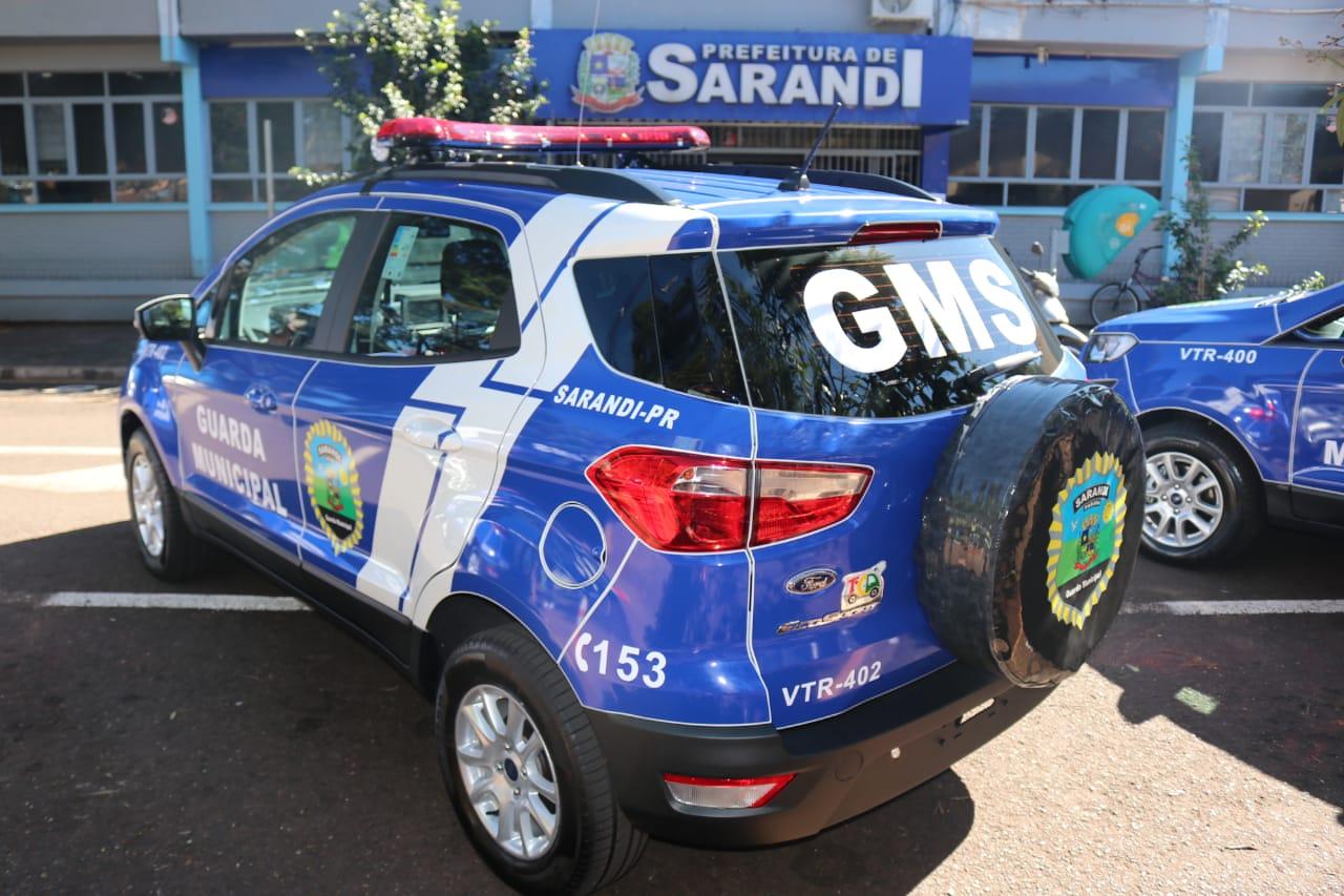 Prefeitura realiza a entrega de viaturas para a GM de Sarandi