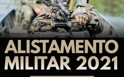 Alistamento Militar Obrigatório para os jovens nascidos no ano de 2003