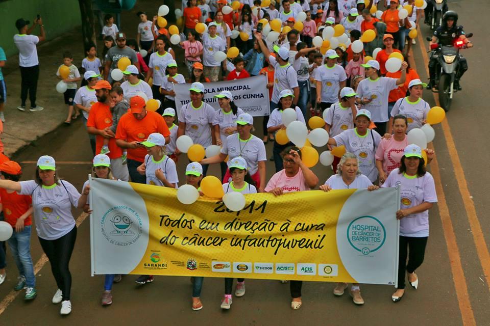 Sarandi participa da Caminhada Passos que Salvam