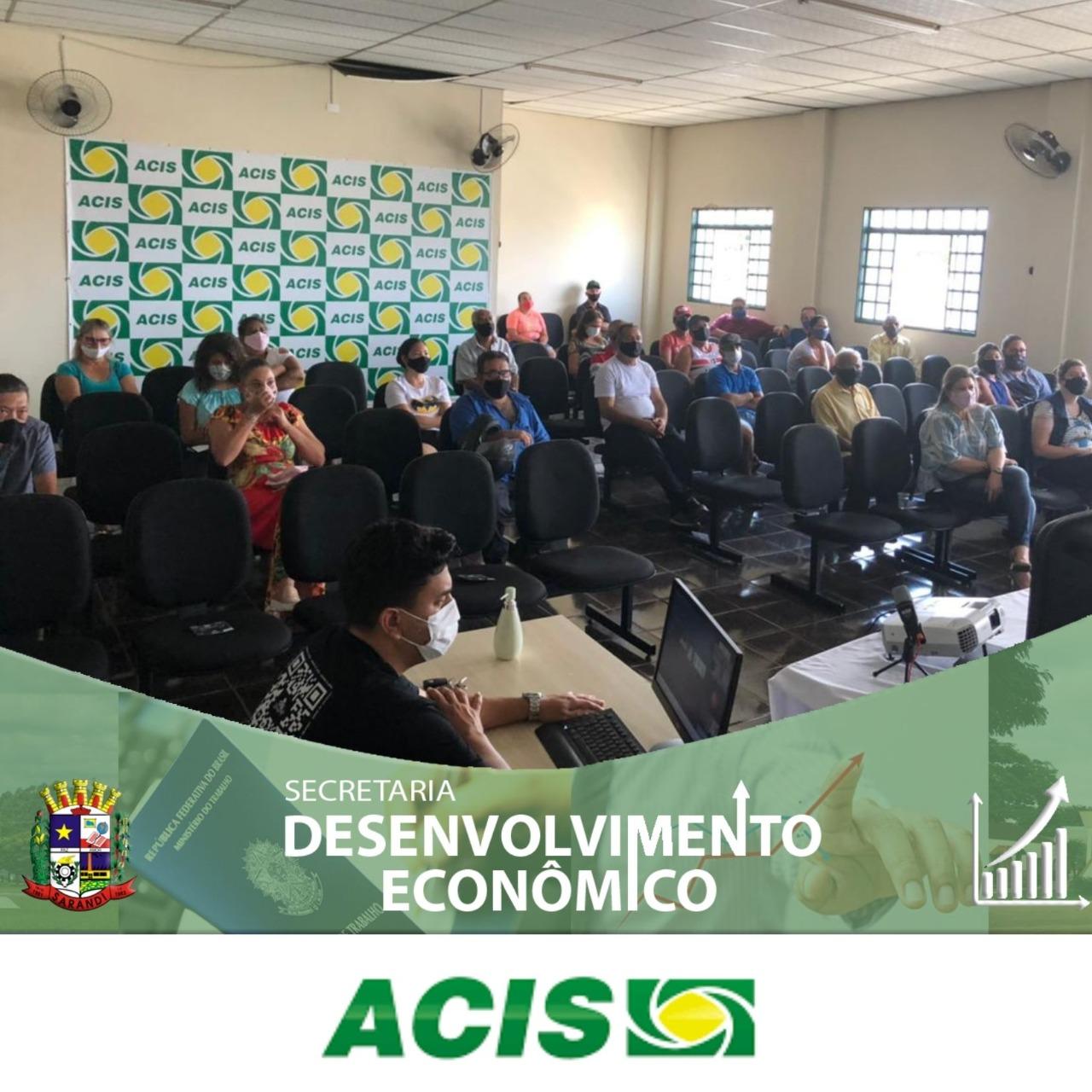 Secretaria de Desenvolvimento Econômico participa de palestra