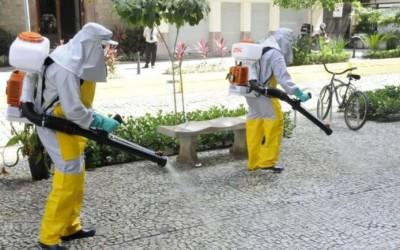 Ação de sanitização em Sarandi