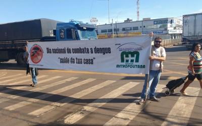 Sarandi participa do Dia Nacional de Combate à Dengue