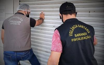 Padaria é autuada e interditada durante operação da Vigilância Sanitária e PROCON Sarandi