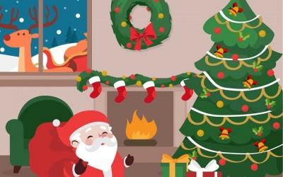 Papai Noel chega em Sarandi
