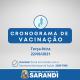 Cronograma de Vacinação contra Covid-19 - Terça-feira - 22/06/2021