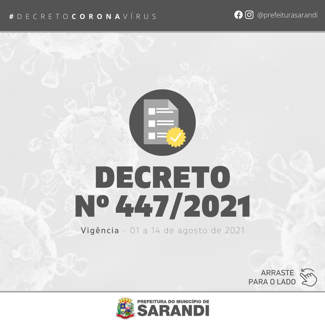 Decreto Nº 447/2021