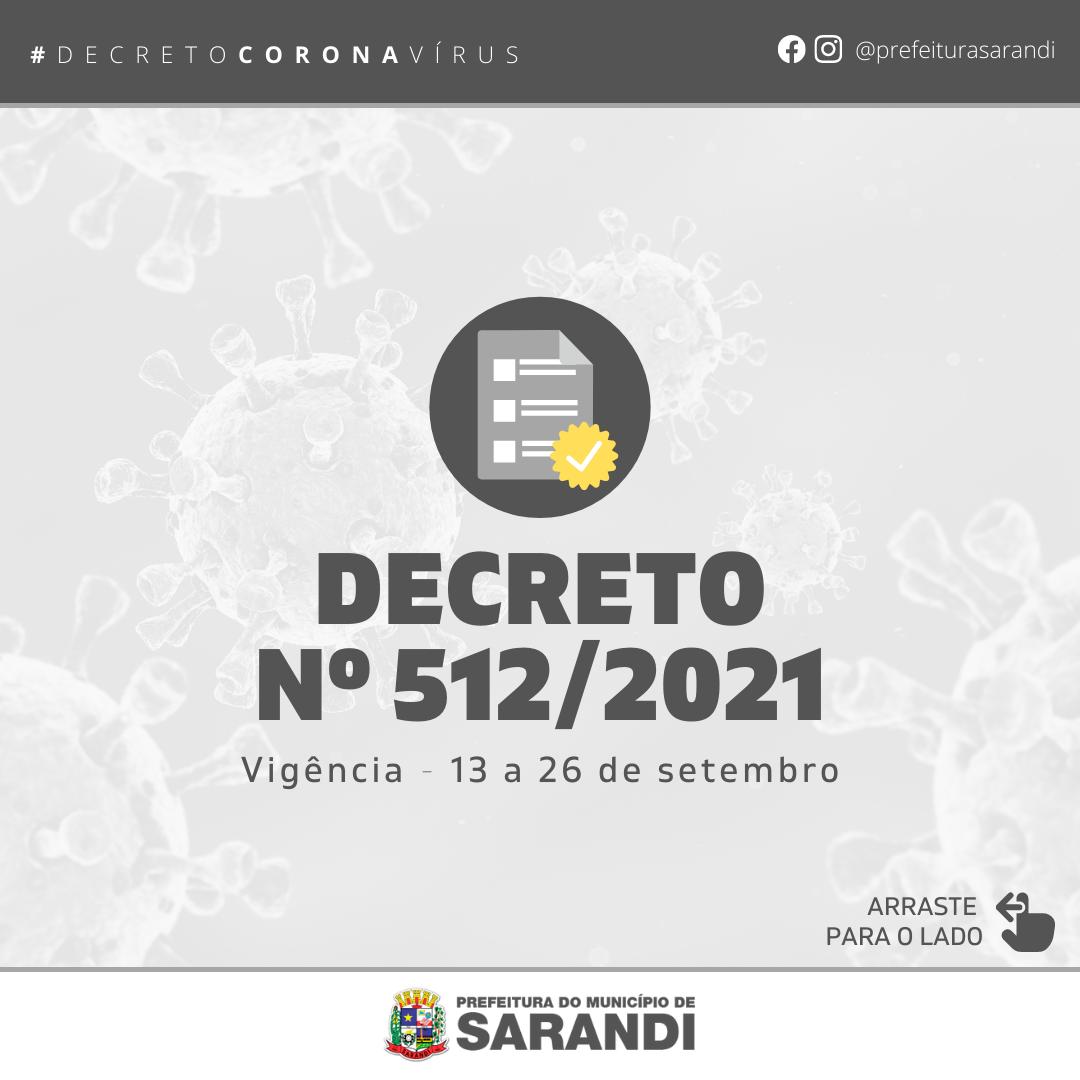 Decreto nº 512/2021