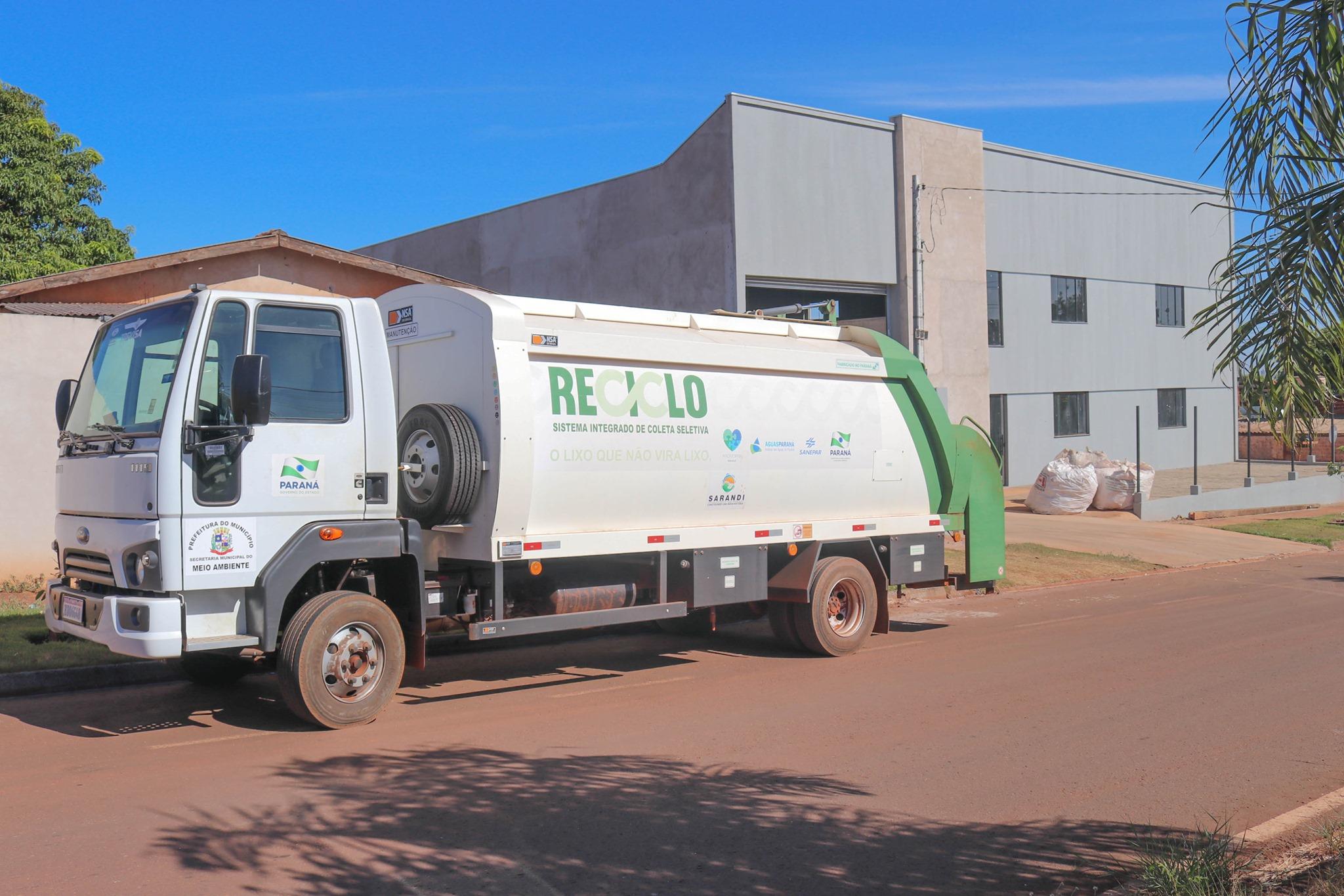 Cooperativa de Reciclagem de Sarandi abrange área de serviço