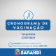 Cronograma de Vacinação contra Covid-19 - 27/07/2021